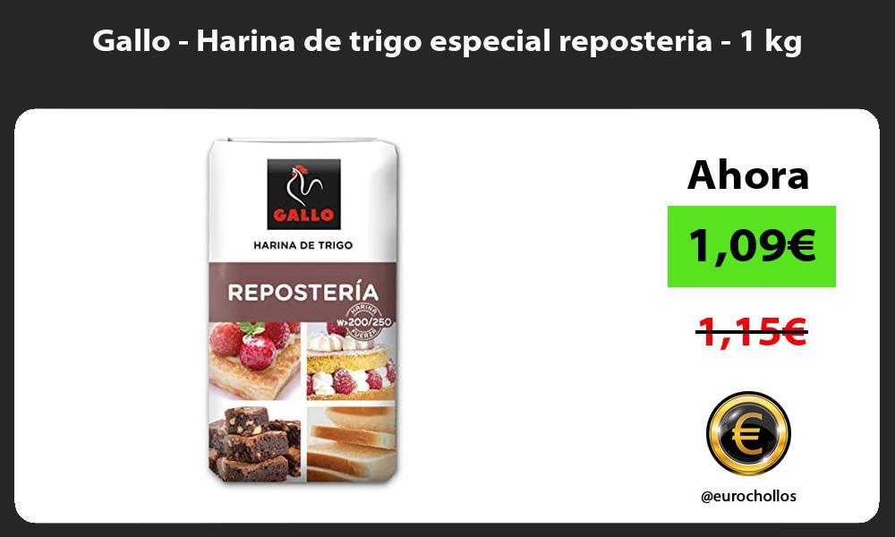 Gallo Harina de trigo especial reposteria 1 kg