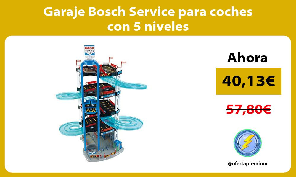 Garaje Bosch Service para coches con 5 niveles