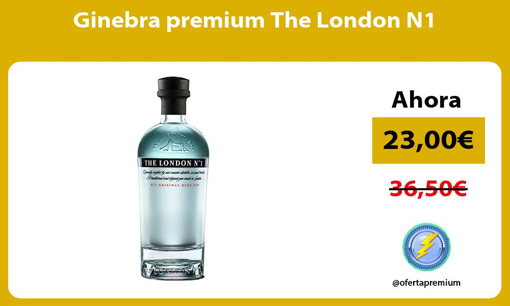 Ginebra premium The London N1