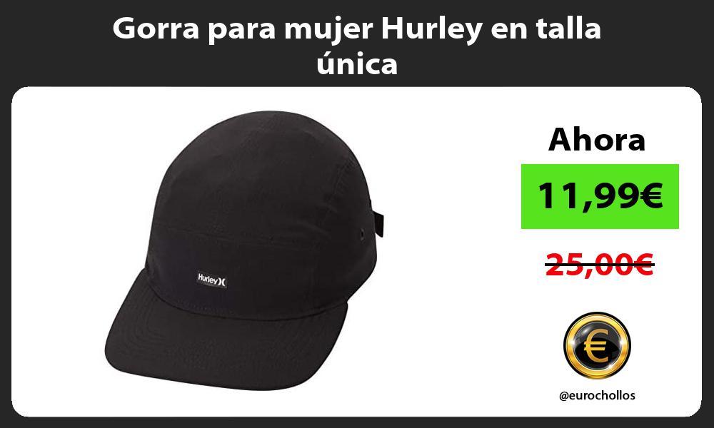 Gorra para mujer Hurley en talla única