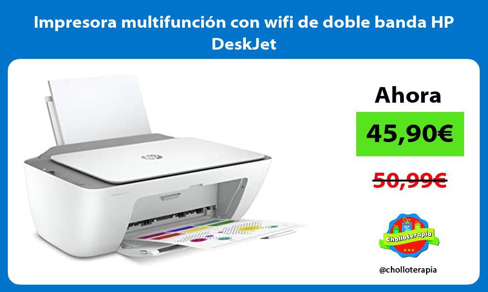 Impresora multifunción con wifi de doble banda HP DeskJet