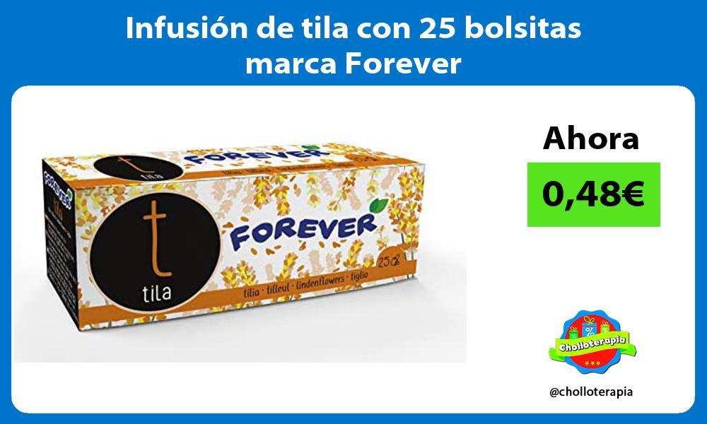 Infusión de tila con 25 bolsitas marca Forever