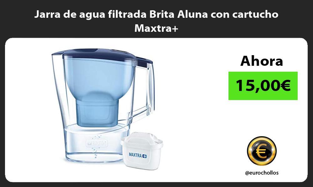 Jarra de agua filtrada Brita Aluna con cartucho Maxtra