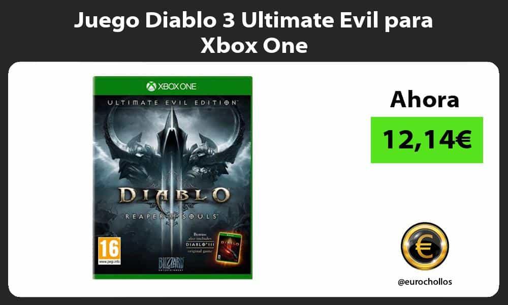 Juego Diablo 3 Ultimate Evil para Xbox One