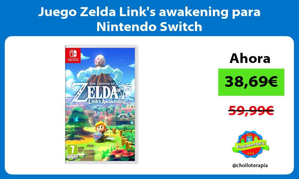 Juego Zelda Links awakening para Nintendo Switch