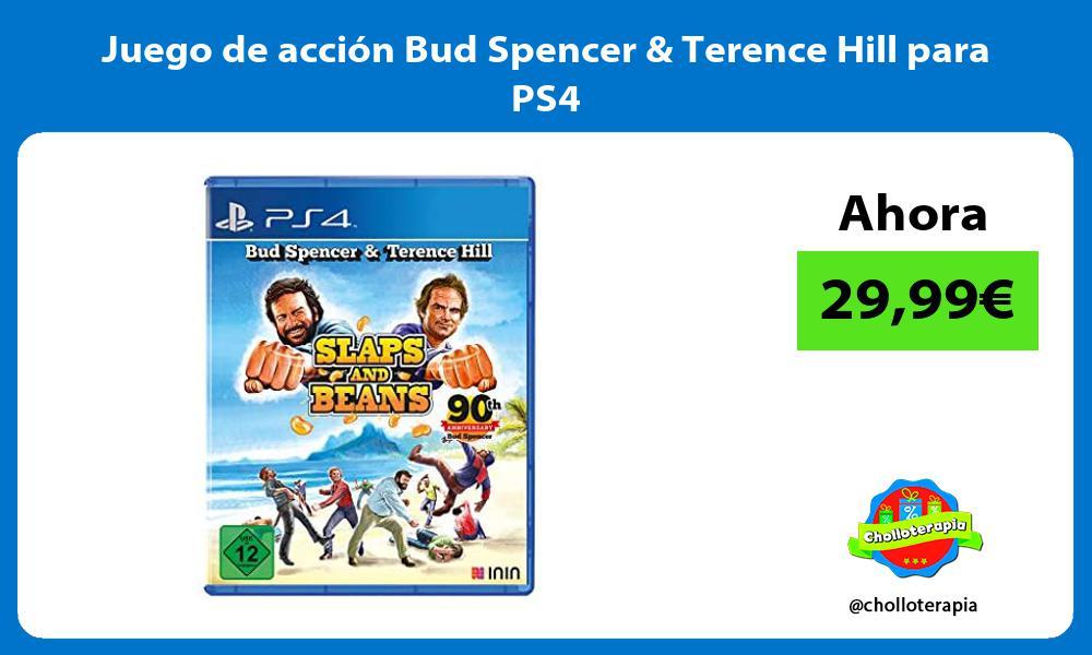 Juego de acción Bud Spencer Terence Hill para PS4