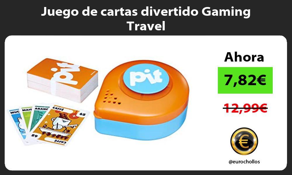 Juego de cartas divertido Gaming Travel
