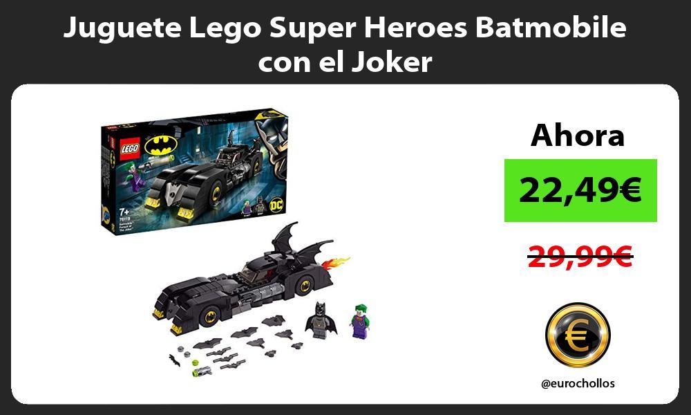 Juguete Lego Super Heroes Batmobile con el Joker