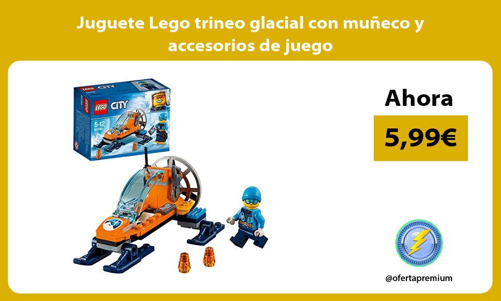 Juguete Lego trineo glacial con muñeco y accesorios de juego