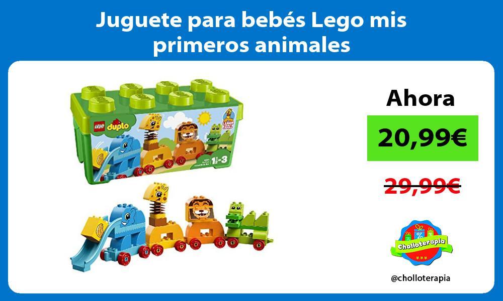 Juguete para bebés Lego mis primeros animales