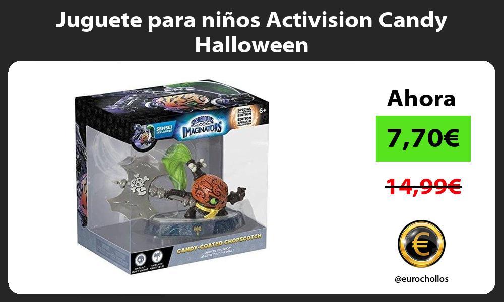 Juguete para niños Activision Candy Halloween