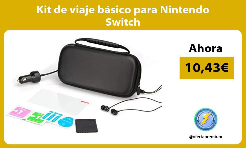 Kit de viaje básico para Nintendo Switch