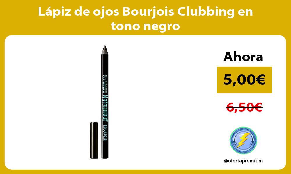Lápiz de ojos Bourjois Clubbing en tono negro