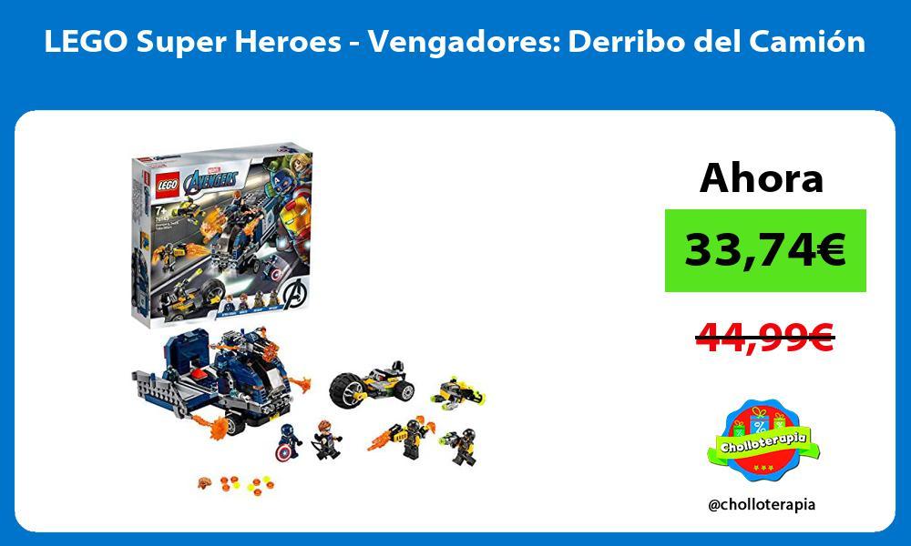 LEGO Super Heroes Vengadores Derribo del Camión