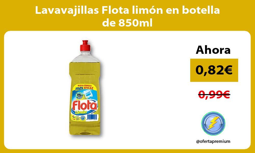 Lavavajillas Flota limón en botella de 850ml
