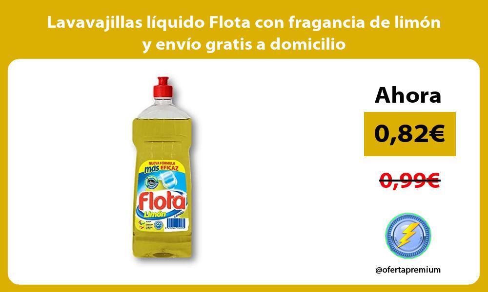 Lavavajillas líquido Flota con fragancia de limón y envío gratis a domicilio