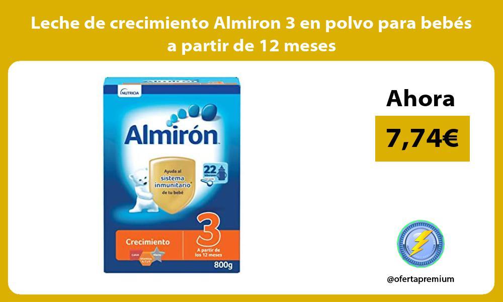 Leche de crecimiento Almiron 3 en polvo para bebés a partir de 12 meses