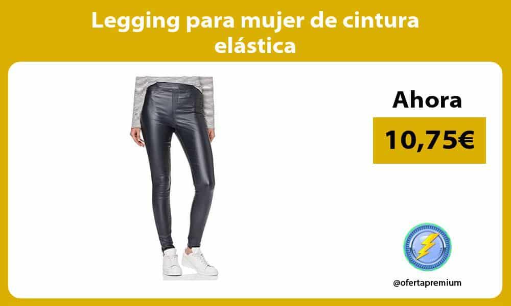 Legging para mujer de cintura elástica