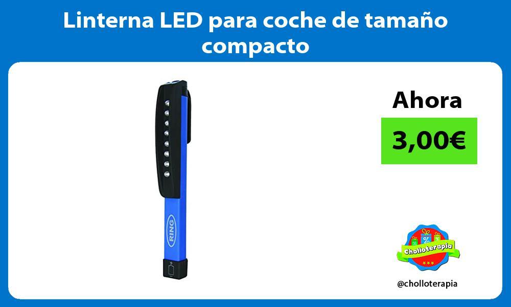 Linterna LED para coche de tamaño compacto
