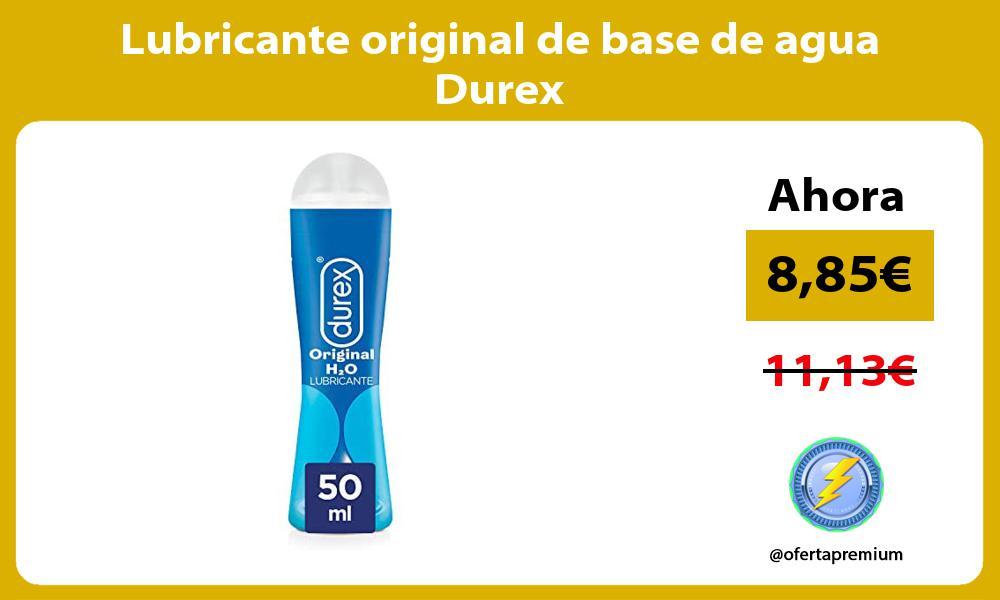 Lubricante original de base de agua Durex