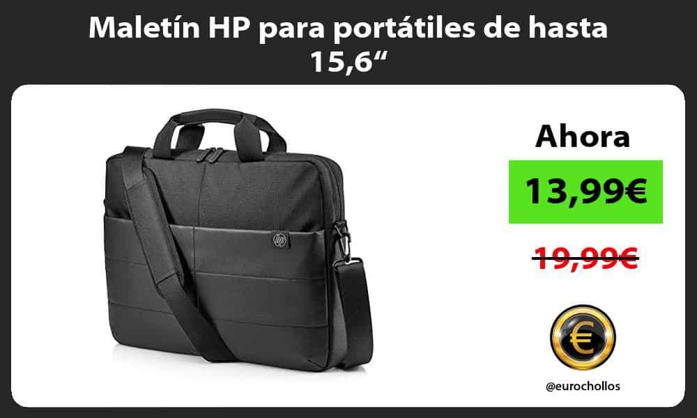 """Maletín HP para portátiles de hasta 156"""""""
