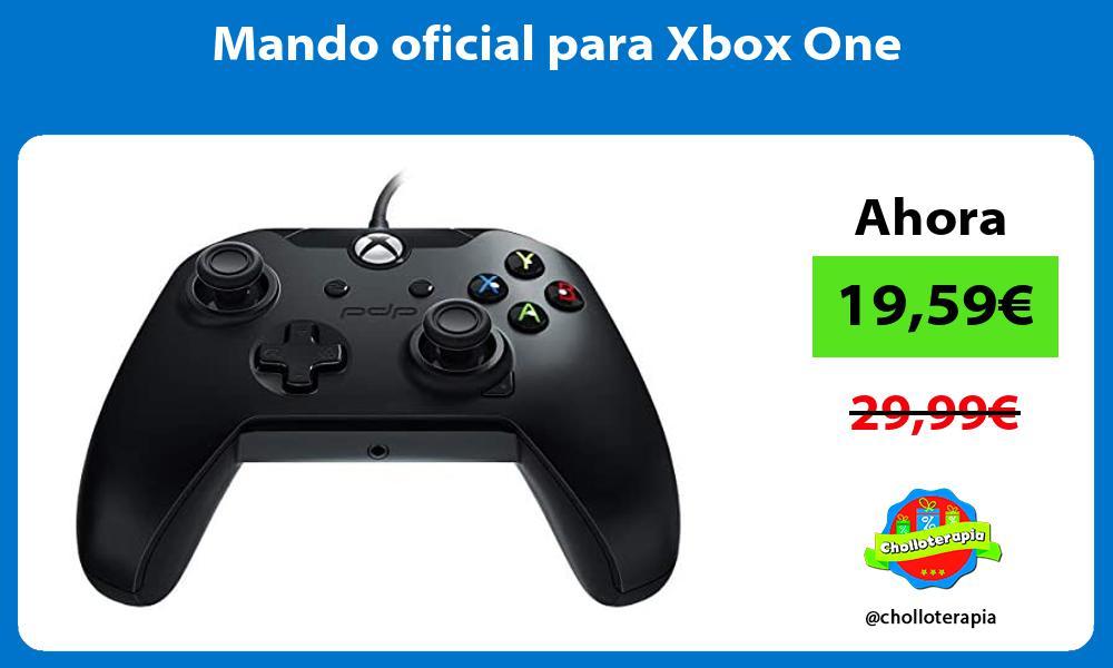 Mando oficial para Xbox One