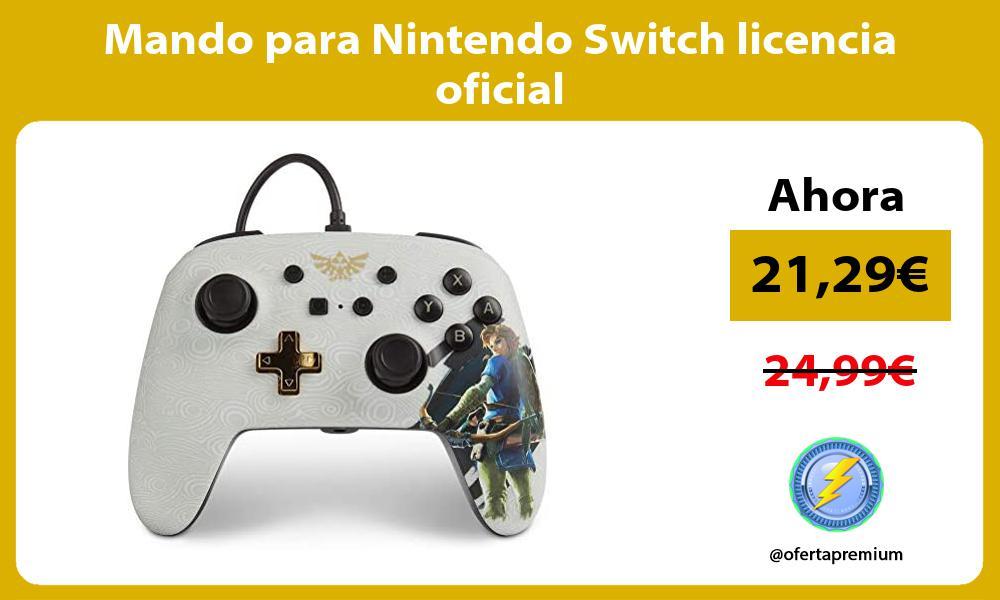 Mando para Nintendo Switch licencia oficial