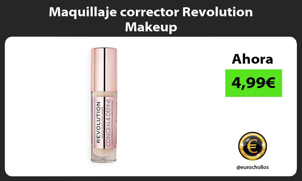 Maquillaje corrector Revolution Makeup