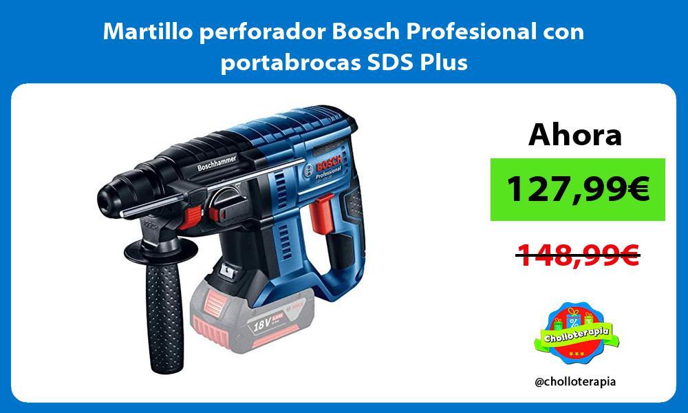 Martillo perforador Bosch Profesional con portabrocas SDS Plus