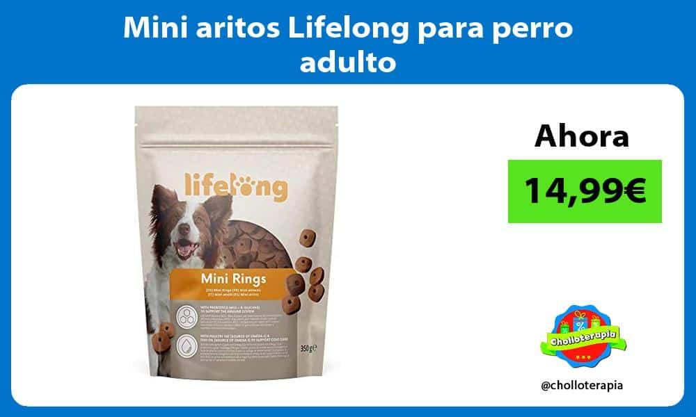 Mini aritos Lifelong para perro adulto