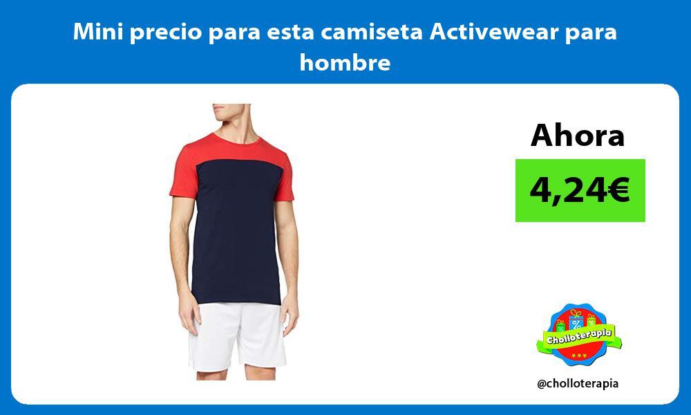 Mini precio para esta camiseta Activewear para hombre