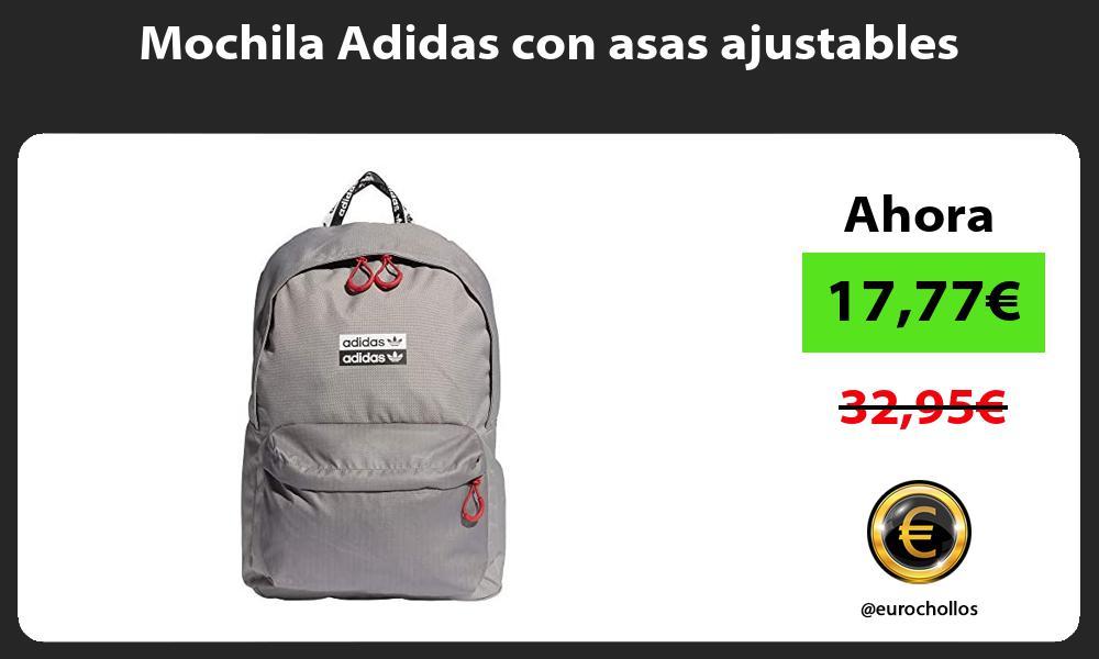 Mochila Adidas con asas ajustables