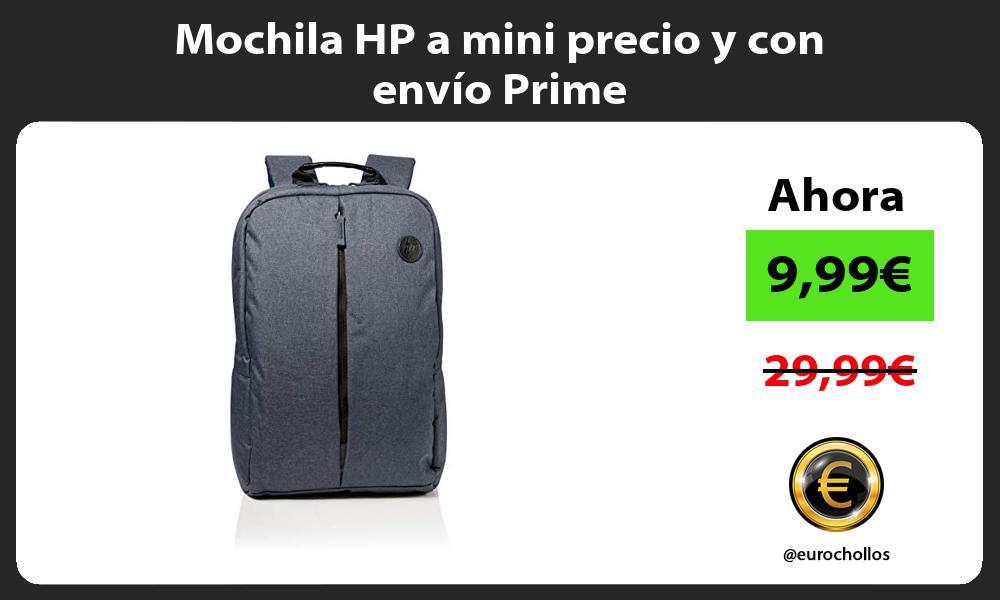 Mochila HP a mini precio y con envío Prime