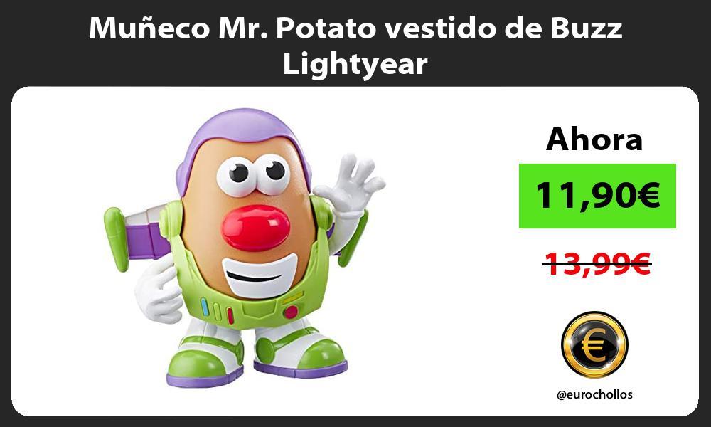 Muñeco Mr Potato vestido de Buzz Lightyear