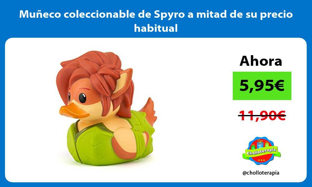 Muñeco coleccionable de Spyro a mitad de su precio habitual