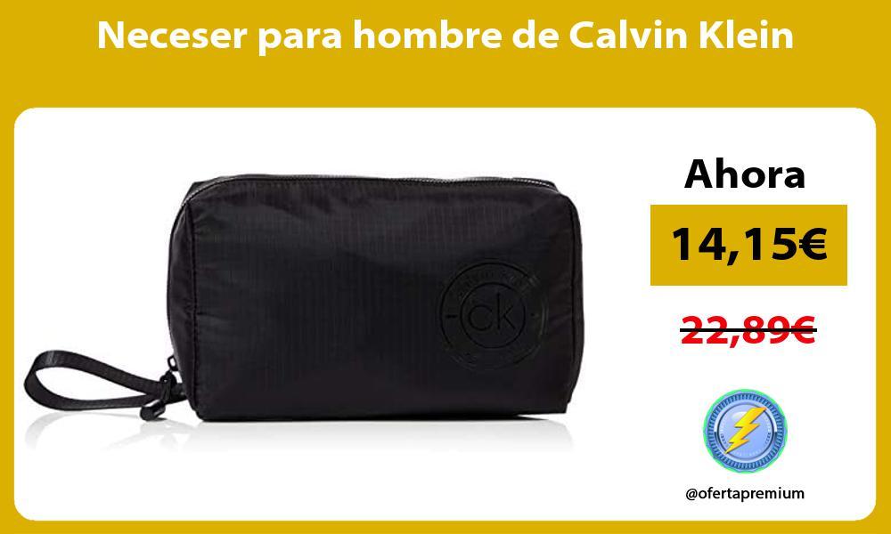 Neceser para hombre de Calvin Klein