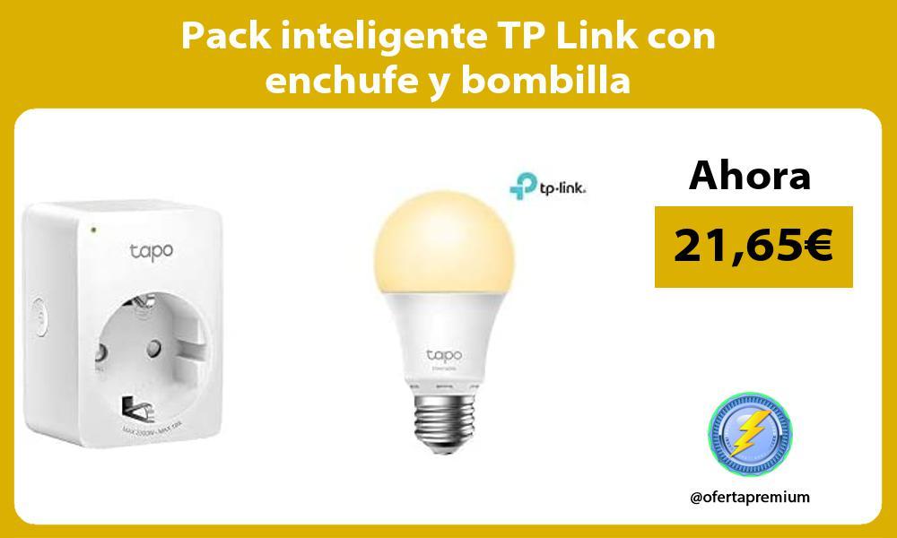 Pack inteligente TP Link con enchufe y bombilla