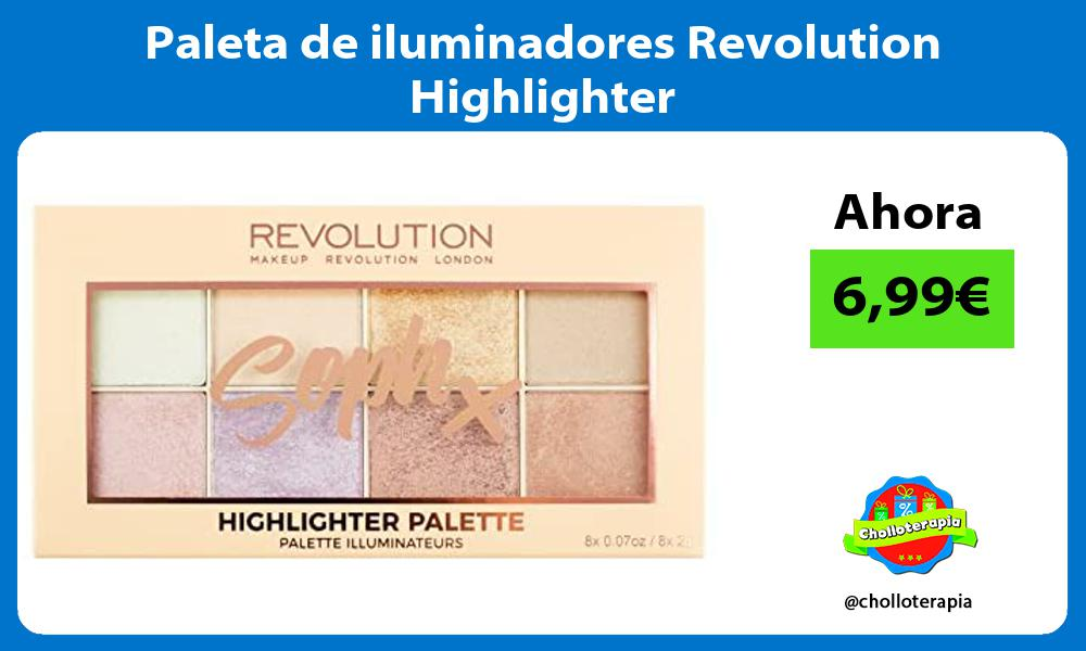 Paleta de iluminadores Revolution Highlighter