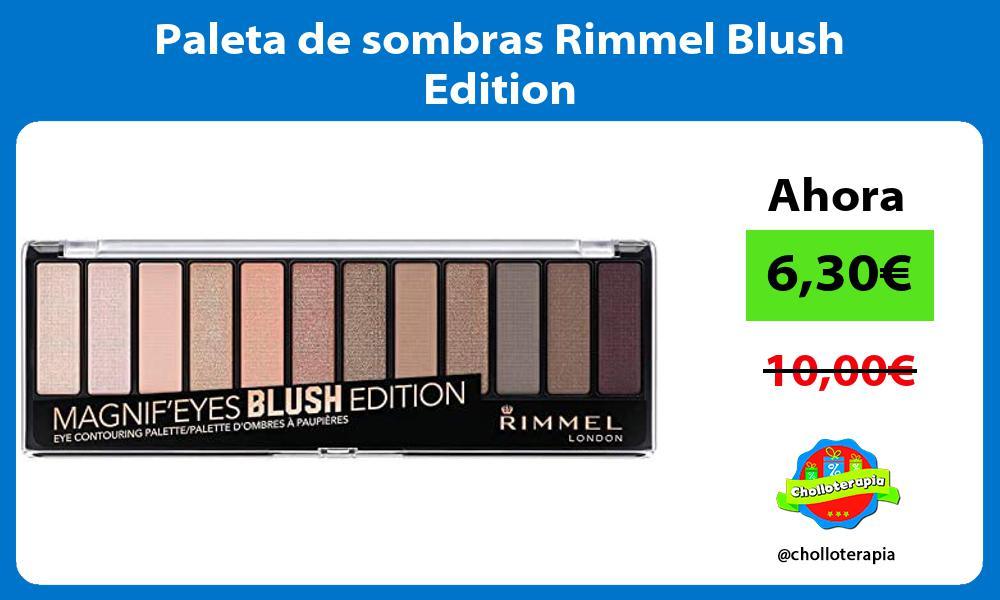 Paleta de sombras Rimmel Blush Edition