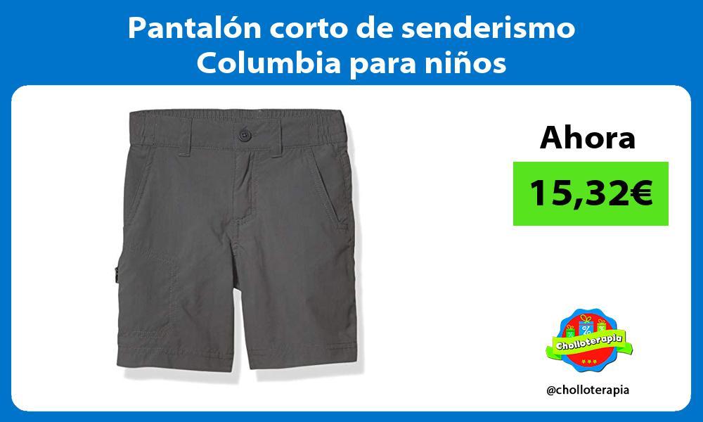 Pantalón corto de senderismo Columbia para niños
