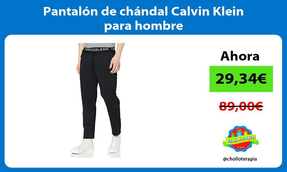 Pantalón de chándal Calvin Klein para hombre