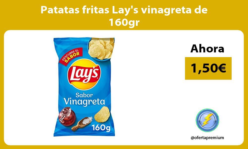 Patatas fritas Lays vinagreta de 160gr
