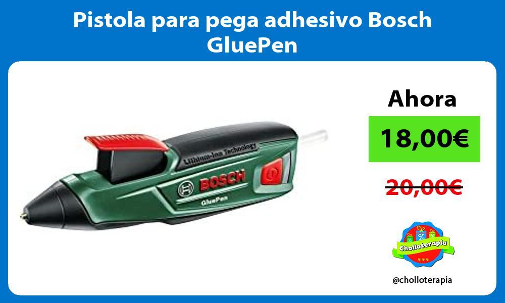 Pistola para pega adhesivo Bosch GluePen