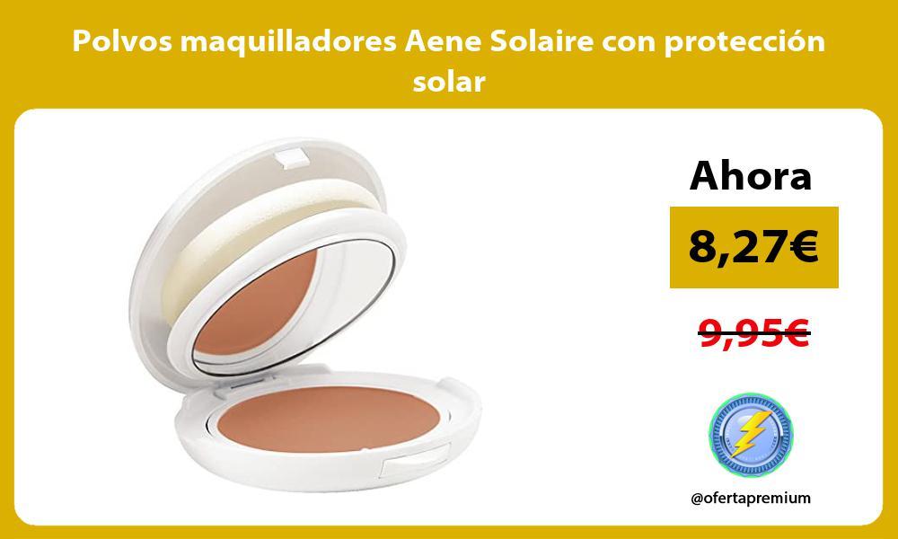 Polvos maquilladores Aene Solaire con protección solar