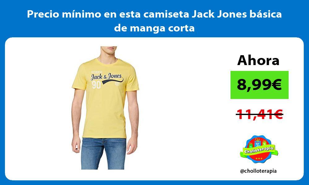 Precio mínimo en esta camiseta Jack Jones básica de manga corta