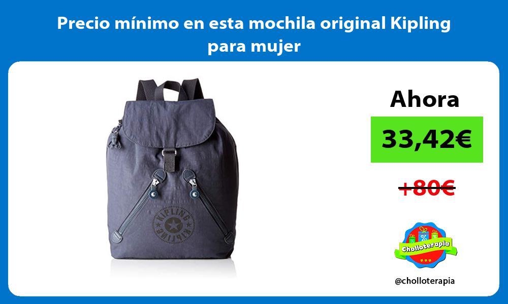 Precio mínimo en esta mochila original Kipling para mujer
