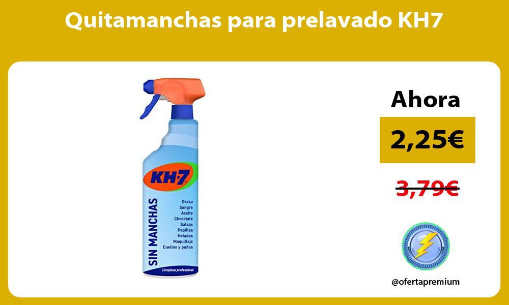 Quitamanchas para prelavado KH7