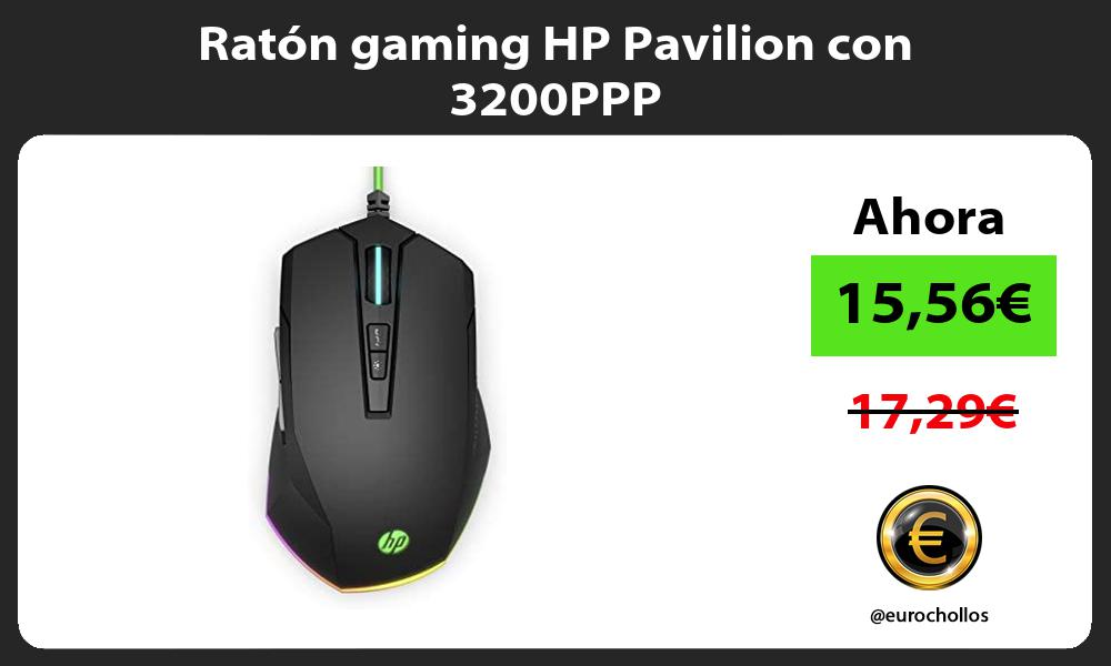 Ratón gaming HP Pavilion con 3200PPP