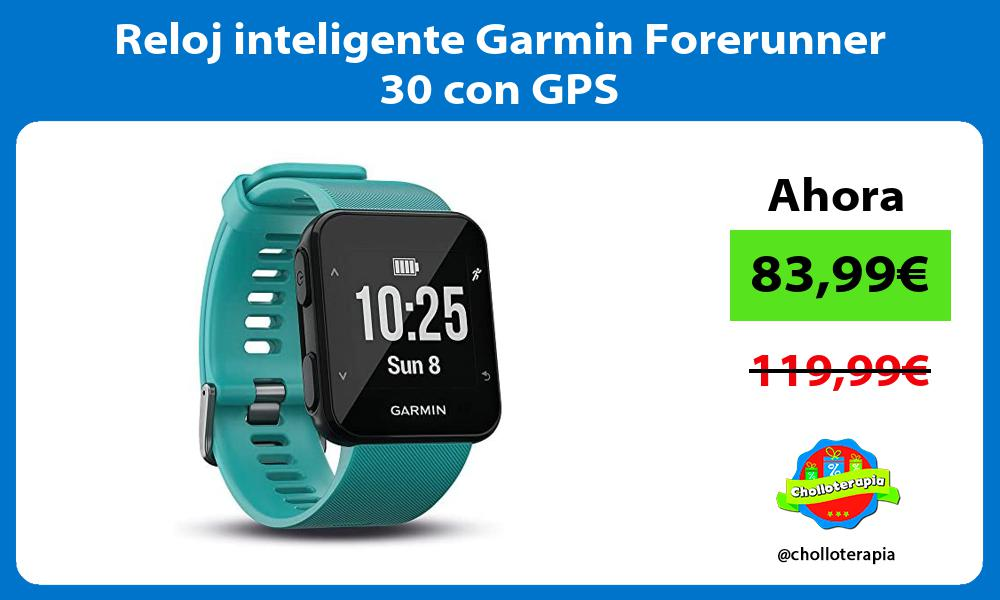 Reloj inteligente Garmin Forerunner 30 con GPS