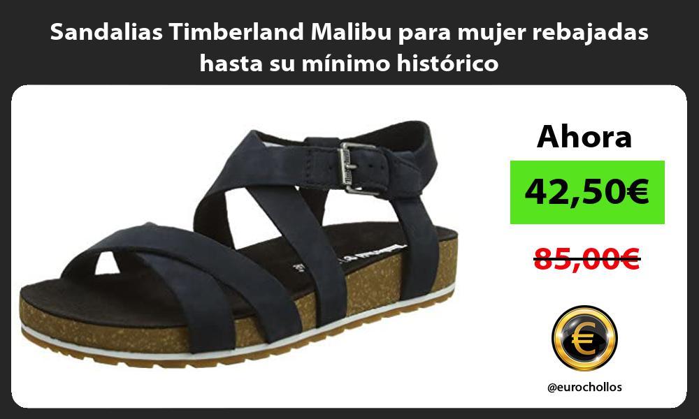 Sandalias Timberland Malibu para mujer rebajadas hasta su mínimo histórico